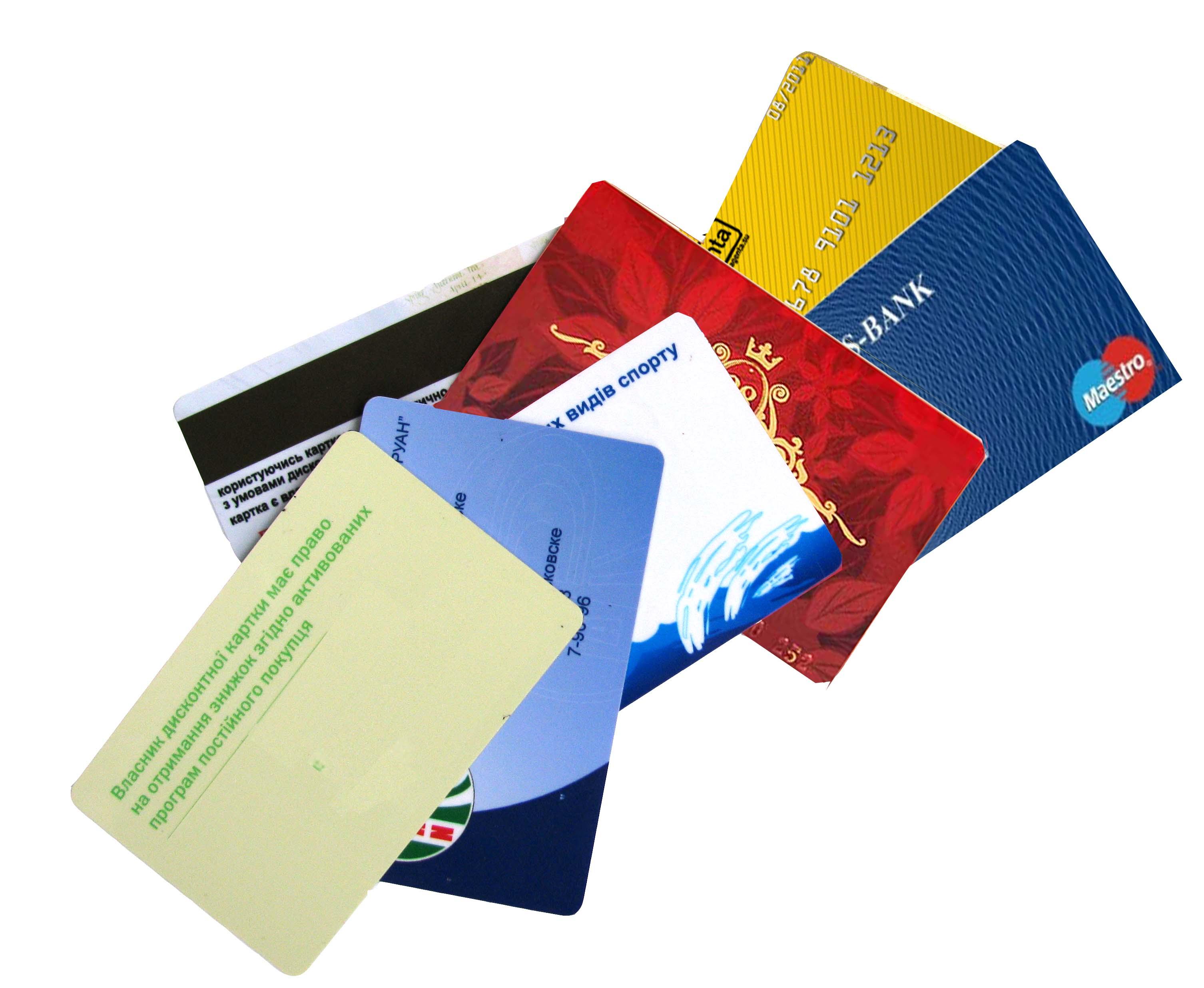 карточки пластиковые изготовление